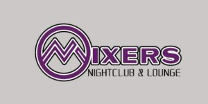 Mixers Nightclub & Lounge Logo for sponsorship