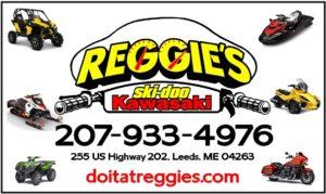 Reggie's Kawasaki Ski-doo Logo for sponsorship