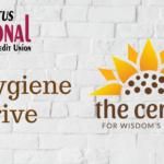 Hygiene Drive for The Center for Wisdom's Women